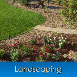 Landscaping in Monument, Castle Rock, Front Range, Colorado
