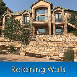 Retaining Walls in Monument, Castle Rock, Front Range, Colorado Springs