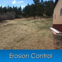 Erosion Control in Monument, Castle Rock, Front Range, Colorado Springs