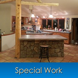 Special Construction Work in Monument, Castle Rock, Front Range, Colorado