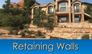 Retaining Walls in Monument, Castle Rock, Front Range, Colorado