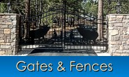 Building gates and fences in Monument, Castle Rock, Front Range, Colorado
