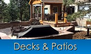 Decks & Patios in Monument, Castle Rock, Front Range, Colorado