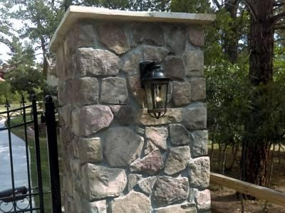 Veneer Stone, Synthetic Rock, Manufactured Stone, cultured stone, Monument, Colorado Springs