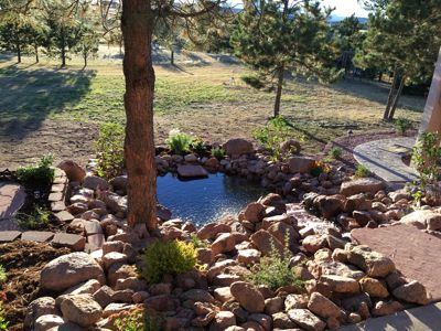Ponds, Fountains and Water Features in Monument, Castle Rock, Colorado Springs